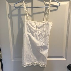 American Eagle cami top- cream white